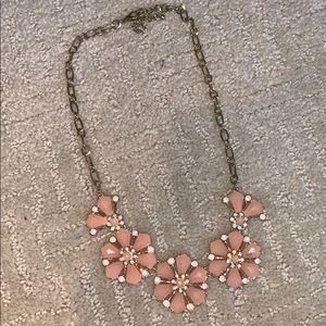Jcrew Peach Necklace